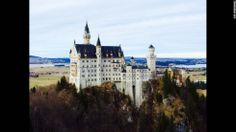 Neuschwanstein Castle in Bavaria. Where looted art was hidden by the Nazis until it was discovered by the Monuments Men. It was also the design inspiration for the castles in Disney World. (via CNN)
