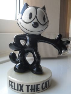 Vintage Fossil Limited Edition Felix the Cat by EviesVintage, £25.00  https://www.etsy.com/listing/101509890/vintage-fossil-limited-edition-felix-the