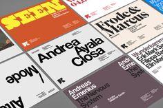 Tom's Roman, Didot, Neue Helvetica, Caslon Graphique