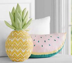 watermelon pineapple cushion pillow