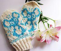 Ravelry: namihiiri's mittens pattern by Milla H.