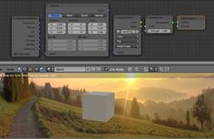 Blender world background in cycles.