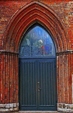 Lübeck, Schleswig-Holstein, Germany....love the transom.....