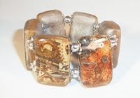 Resin Obsession - SteamPunk Bracelet using Mold 411, Toobies, and SuperClear Resin