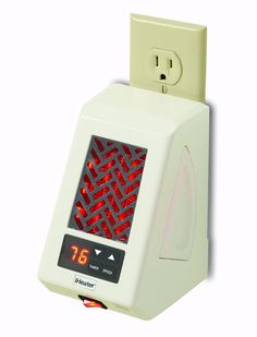 Amazon.com - iHeater IH-50-W Micro Plug-In Infrared Heater, Heats Up to 250 Square Feet, White - Portable Space Heaters