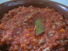 Youchef.tv - Ragù Bolognese style Bolognese, Learn To Cook, Antipasto, Cooking Classes, Good Food, Healthy Eating, Meals, Dining, Tv
