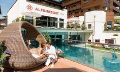 Premium All Inclusive Alpinresort in Saalbach Spa Hotel, All Inclusive, Hanging Chair, Sport, Travel, Decor, Ski Trips, Winter Vacations, Fall