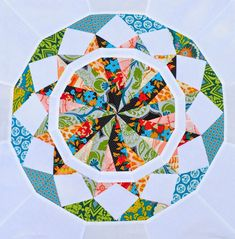from blank pages...: Celestial Star QAL: ALL 12 Blocks
