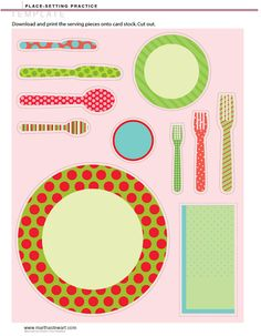 A Bushel and a Peck of FUN: Activity Days - Etiquette Night