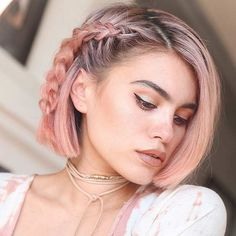 23 Trendy Rose Gold Hair Color Ideas