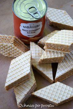 Domowe wafle o smaku toffi Bread, Food, Brot, Essen, Baking, Meals, Breads, Buns, Yemek