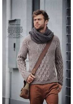 Men's Knits, Men Sweater, Turtle Neck, Knitting, Sweaters, Fashion, Moda, Tricot, Fashion Styles