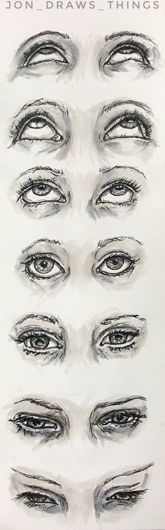 Drawing Eyes Reference