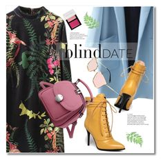 """""""Dress to Impress: Blind Date"""" by svijetlana ❤ liked on Polyvore featuring Bobbi Brown Cosmetics, blinddate and zaful"""