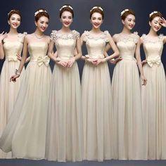Vestidos de dama de honor elegantes