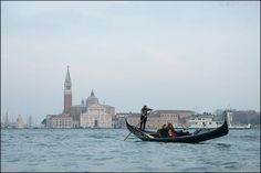 gondola and Chiesa di San Giorgio Maggliore/Venice,Italy photo by Bang, Chulrin /20150214