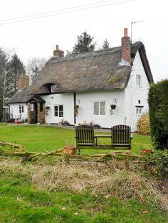 vwcampervan-aldridge: Thatched Cottage at Ladybirch Wood, Staffordshire, England