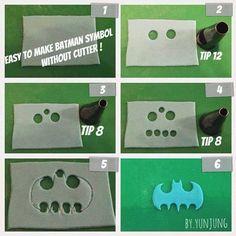 Make batman's logo