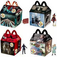 American Horror Story Happy Meals - Collect them all