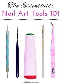 Essential Nail Art Tools