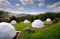 Geodesic Glamping Domes, Killin, Loch Tay.   18 Incredible, Amazing, And Unique Airbnb Locations In Scotland