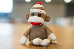 Sock Monkey plush toy on brown panel photo – Free Biscuit Image on Unsplash Monkey Pictures, Free Barbie, Pet Pigs, Played Yourself, Childrens Party, Diy Toys, Cool Toys, Decoration, Strawberries