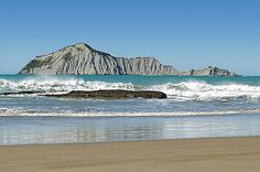 Waimarama Beach and Bare Island Hawkes Bay New Zealand