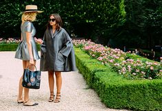 Street Style - Paris Fall 14 Couture - Miroslava Duma  - Photo by Tommy Ton - TheStyleDraft