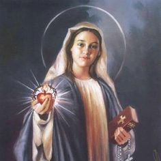 CONSECRATION TO THE IMMACULATE HEART OF MARY.