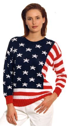Berroco® Free Pattern | Flag Sweater