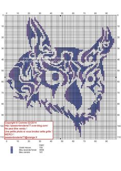 hiboux - great - Point de croix - cross stitch - Blog : http://broderiemimie44.canalblog.com/