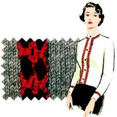 Ribbon Braid Trim c.1953 | Free Crochet Patterns | Fashions in Quick Crochet | J. & P. Coats - Clark's O.N.T. Book No. 302