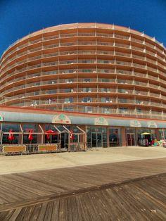The Grand Hotel. 9-27-2013 Ocean City MD Boardwalk. Lea