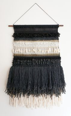 Fiber Art weaving by Barbara Rourke