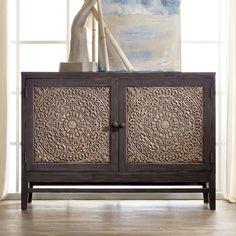 Hooker Furniture Melange Matisette Gray Chest | from hayneedle.com