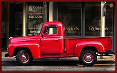 Patrick drove the old truck like it was an Indie 500 race car. Some day, friends told him, he was going to end up like his hero, James Dean. - From my novel Invitation to a Murder.