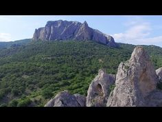 Солнечная долина. Крым. Аэросъемка.; Sun valley. Crimea. Aerial video. - YouTube