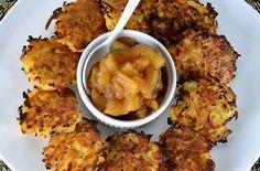 Baked Rutabaga  Potato Latkes