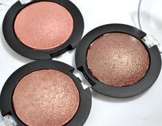 BeautyTidbits - e.l.f. Studio Baked Eyeshadows Toasted, Pixie and Bark