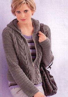 Вязание спицами для женщин Жакет и топ. Обсуждение на LiveInternet - Российский Сервис Онлайн-Дневников