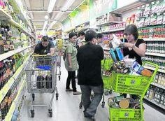 Crece frecuencia de compra en las grandes cadenas, según estudio de Kantar Worldpanel en Colombia.