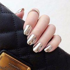 Зеркальные ногти»: как повторить модный маникюр - Поиск в Google