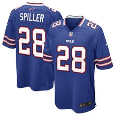 04564fe2c43 Youth Nike NFL Buffalo Bills Steve Johnson Game Team Color Jersey for sale