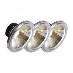 AR111 LED Leuchte COB 7W 24° Perfekte #Lichtqualität bei brillianter #Lichtausbeute von bis zu 560 #Lumen - das ist die #G53 #AR111! Die ideale Lösung für gewerbliche #Projekte, #Restaurants, #Geschäfte oder #Ladenlokale. Led Lampe, Restaurants, Wedding Rings, Engagement Rings, Jewelry, Light Fixtures, Projects, Enagement Rings, Jewlery