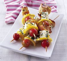 Try these delicious, cheesy skewers for a perfect veggie snack