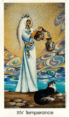 cat tarot cards - Google Search