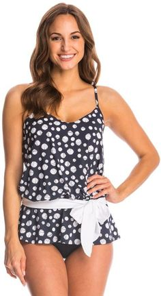 Miraclesuit Dot's Hot Whimsy Tankini Top 8145975