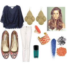 Got the Blues, created by elizzabizz on Polyvore LOVE!