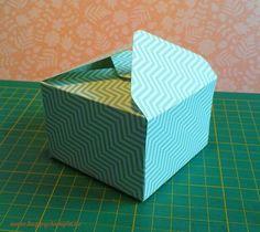 "happystampin.de: A4 Anleitung Box mit dem Envelope Punch Board (Papiergröße 8 x 8"" = 20,3 x 20,3 cm)"
