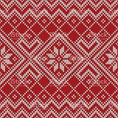 Christmas Sweater Design. Seamless Pattern royalty-free stock vector art